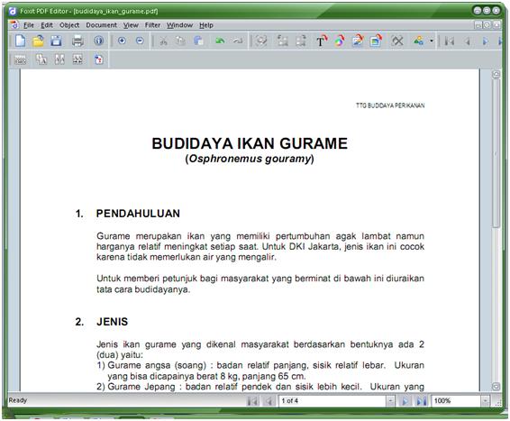 ... -tik.com » Blog Archive » Mengedit File PDF dengan Foxit PDF Editor
